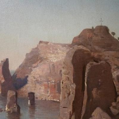 Unikāls atradums! Jūlija Federa gleznas atgriešanās