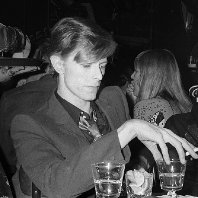 Ulvis Alberts & David Bowie in London